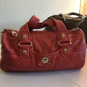 Marc by Marc Jacobs Red Leather Shoulder Bag